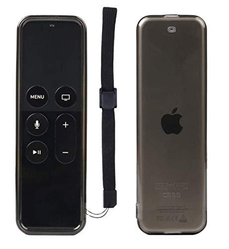 SIKAI - Funda protectora para mando a distancia de Apple Remote (compatible con Apple TV 4K/HD), color negro