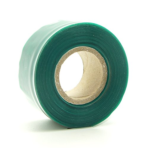 CREATIONSMOTORSPORT Siliconen Slang Stretch & Seal Tape Radiator Slang Reparatie waterdichte bedrading 25mm 3m Groen