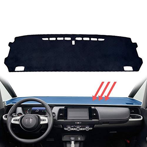 linfei Tappetino Cruscotto Dash Mat per Honda Jazz Fit 2020 2021 Tappetino Antiscivolo Copri Cruscotto Pad Parasole Dashmat Tappetini Accessori It Nero