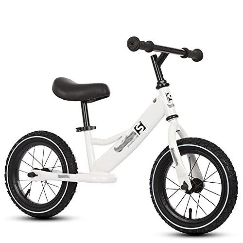 YXKA Bicicleta De Equilibrio De 12'para Niños De 2 A 6 Años, Niñas, Niños, Scooter De Equilibrio, Bicicleta Sin Pedal, Bicicleta De Dos Ruedas, Bicicleta De Entrenamiento para Niños PE