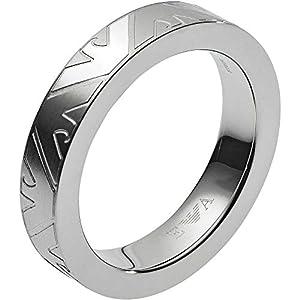 Emporio Armani Herren-Ringe Edelstahl mit - Ringgröße 65 EGS2601040-11.5