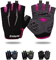 Grebarley Fahrradhandschuhe,Radsporthandschuhe rutschfeste und Stoßdämpfende Mountainbike Handschuhe mit geeiget Unisex...