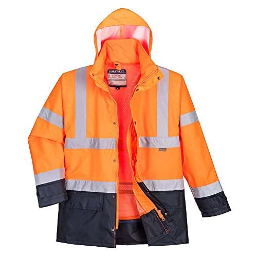 Portwest S768-5en1 de alta visibilidad chaqueta Ejecutivo, color, talla 4XL