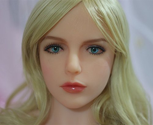 Gorgeous blonde oral sex doll head