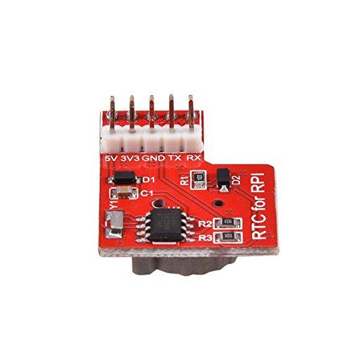 Vbestlife Módulo de Reloj en Tiempo Real de Alta Precisión del Módulo RTC de La Placa DS1307 para Raspberry Pi 3/2 Modelo B