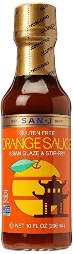 San J Sauce Orange Gf 10 Fl Oz