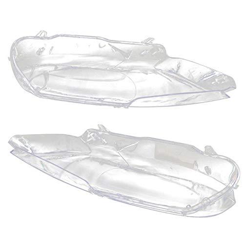 Vorne Scheinwerferglas Objektivabdeckung Links Rechts Auto-Scheinwerfer-Objektiv Transparent Abdeckungs-Fall Gepasst Fit For BMW E92 2006-2009 Auto-Licht-Objektivscheinwerferabdeckung ( Color : Left )