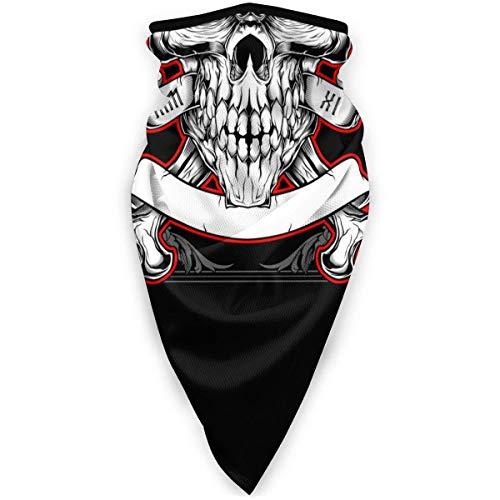 Liuqy Bandeau Banane, tête de crâne avec Corne enveloppe multifonctionnelle Magique Casque de Moto Sport de Plein air Demi-Visage Voile Cou Couverture