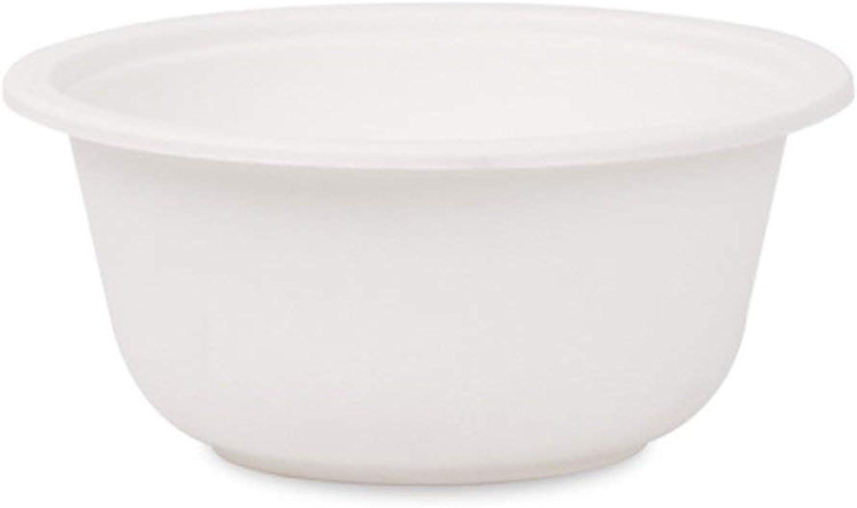 Vaisselle Bols jetables Bols épais Bols à vaisselle Bols d'emballage transparents en plastique 50   ensemble Vaisselle