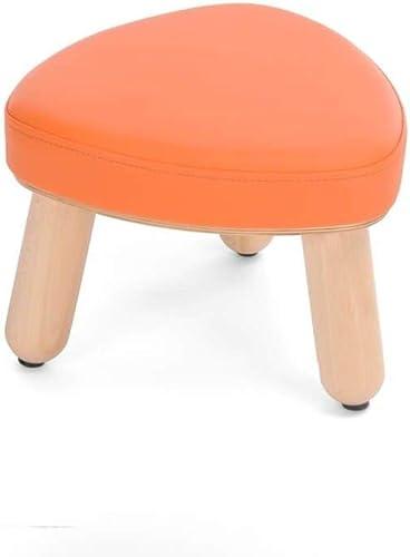 B  Holzspielwaren Polsterhocker für Kinder Sitzh  21cm Orange