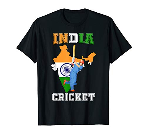 Indian Batsman Shirt - India Cricket Cup Fan T-Shirt