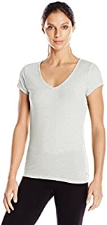 Danskin Women's Allure Back Strap Tee