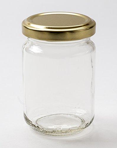 Nutley's Lot de 12 Petits bocaux à Confiture ou épices Transparent 156 ML