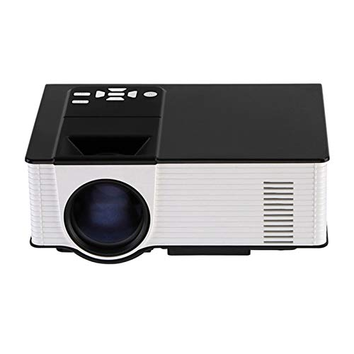 Projector Native 1080P HD Video Projector 100' Display And 30000 Hours Lamp Life LED Video Projector, Built-In Dual Speakers, Home Theater Entertainment Parties