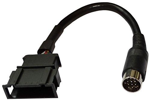 AERZETIX: AUX adapter-aansluitkabel CD-inlegger 13 pin pin voor auto auto auto vlak 12pin