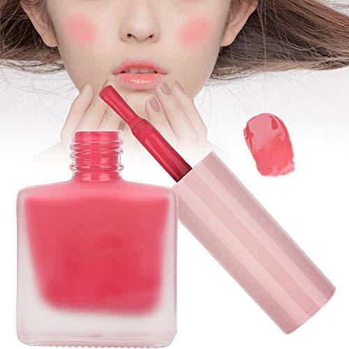 Colorete Facial Hidratante Hidratante Piel Duradera Brillo Colorete 12.5g Rosa Cereza
