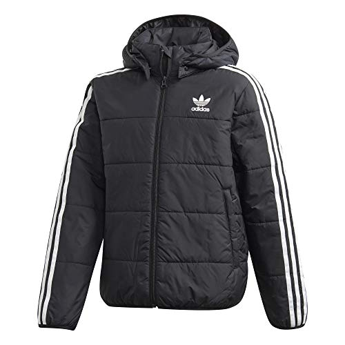 adidas Padded Kids Jacket Winterjacke (164, black/white)
