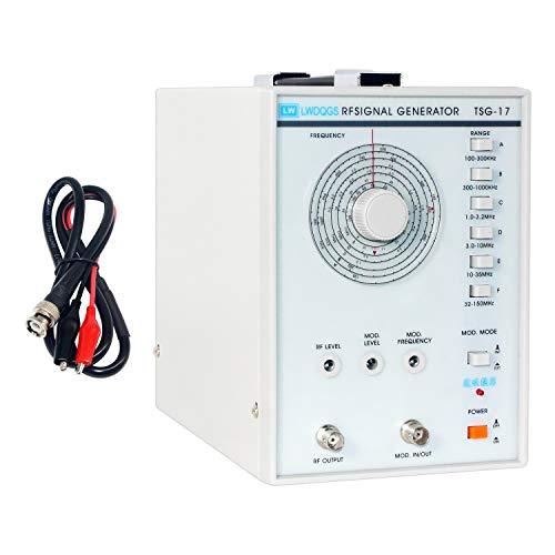 Signal Generator Counter, TSG-17 High Frequency Signal Generator RF(Radio-Frequency) Signal Generator 220V/110V(US Plug)