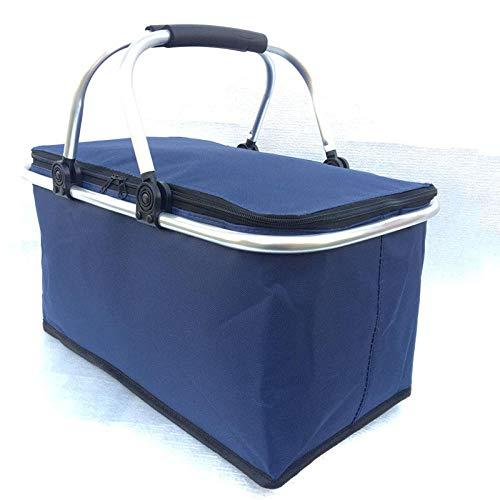 B/H Protection de Fraîcheur,Shoppers pliants avec Repas de Conservation de la Chaleur à Bord des boîtes de Livraison de Conservation de la Chaleur de Pique-Nique-F,Bag for BBQs