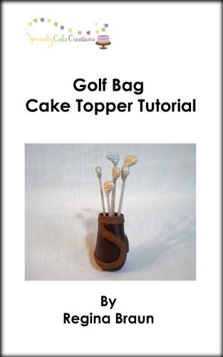 Golf Bag Cake Topper Tutorial