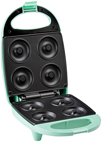 Nostalgia MDM400 Mini Donut Maker, Green