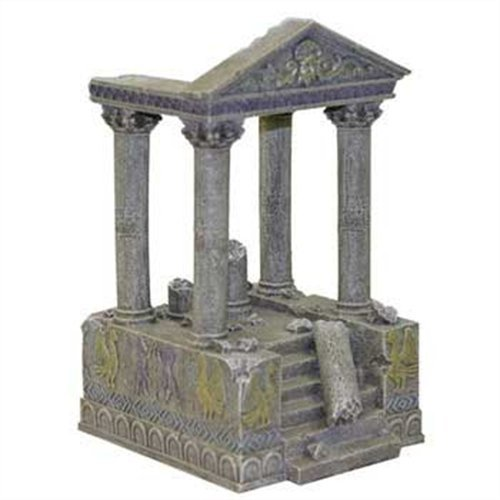 Rosewood Ruinas del Templo y Pasos de Palisandro Acuario Decor