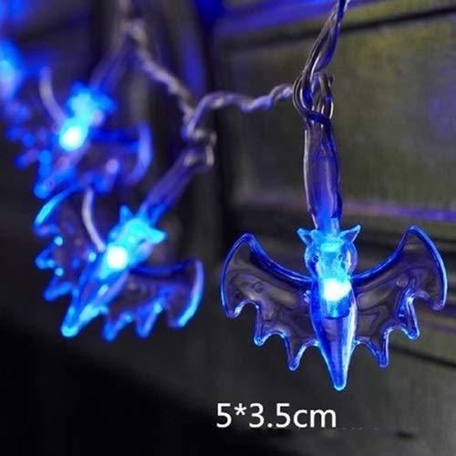 SONGSH Halloween Kürbis Lichter LED hängen DIY Halloween Dekoration Outdoor Kürbis LED Lichterketten Halloween Laterne Lichter for Familie Party Supplies Urlaub liefert (Emitting Color : 7)