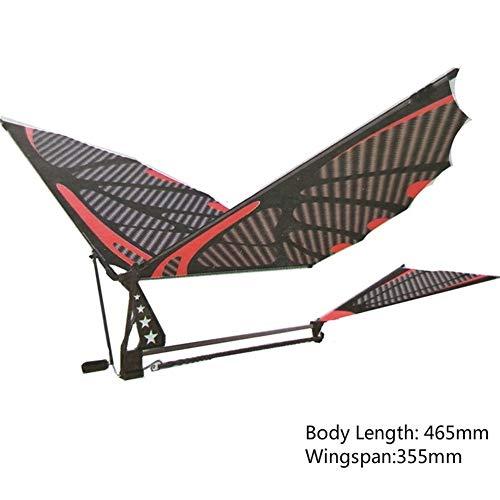 ZQALOVE 18inches Eagle-Carbon-Faser-Imitate Vögel Versammlung Flattern Flügel Flug DIY Modellflugzeug Flugzeug Spielzeug