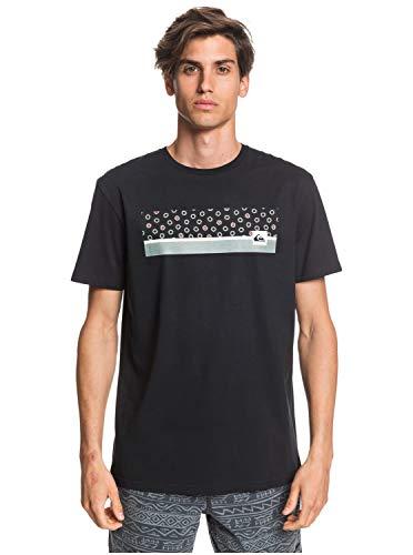 Quiksilver Herren Screen Tee Jam It - T-Shirt Für Männer, Black, XS, EQYZT05758