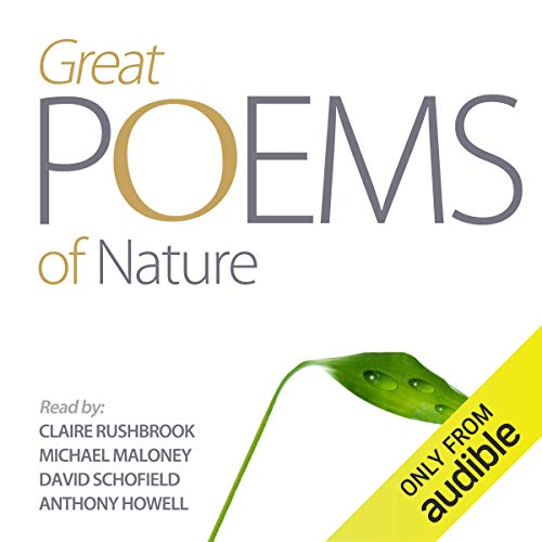 Great Nature Poems audiobook cover art