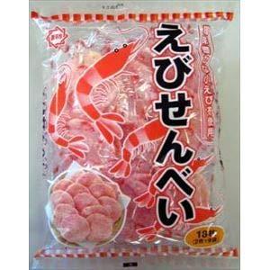 ひざつき製菓 えびせんべい 16枚×12入 t04902445112705