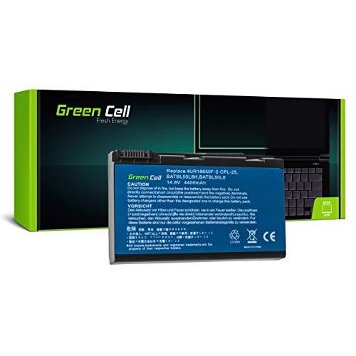 Green Cell Batería para Acer Aspire 5612 5612AWLMI 5612WLMI 5613 5613AWLMI 5630 5630-6197 5630-6254 5630-6288 5630-6760 5630-6803 5630-6806 5632 5650 Portátil (4400mAh 14.8V Negro)