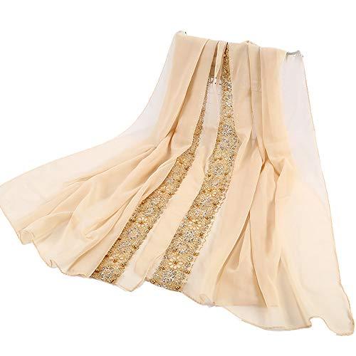 MCYs Mode Frauen New Spitze Viskose Schal islamischen Muslim Hijab Islamische Gebet Kleid Abdeckung Muslimische