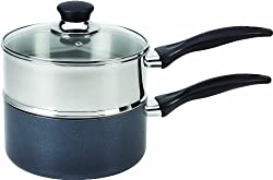 T-fal B13996 Double Boiler With Sturdy Handle