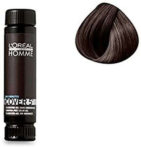 L'Oréal Professionnel Cover 5 Grau haar 3, dunkelbraun, (3x50ml)