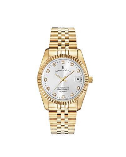 Jacques Du Manoir Reloj Inspiration Swiss Made en oro amarillo IP