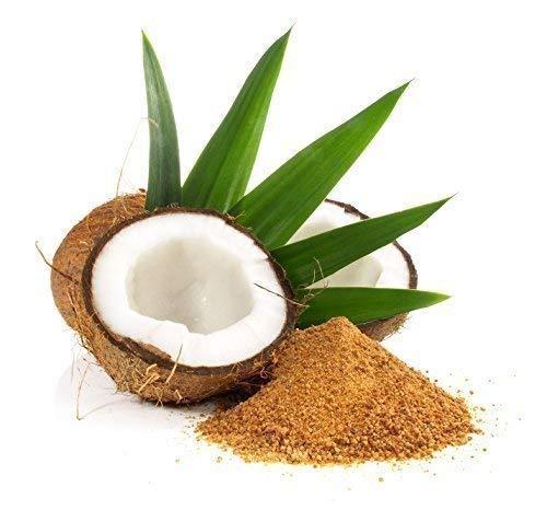 2 x 500 g Kokosblütenzucker - Kokos Süßen Zimt Karamel goldfarbener Zucker 1 kg