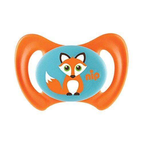 Nip Beruhigungssauger Miss Denti Silikon Größe 1 Fuchs orange, 1 St