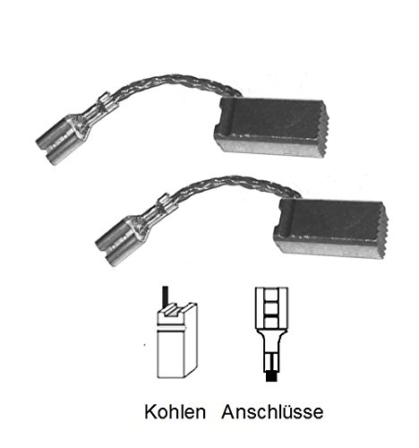 ULFATEC ® Kohlebürsten Motorkohlen für Bosch GBH 24 V, GBH 24 VRE - 7x8x17mm (2014)
