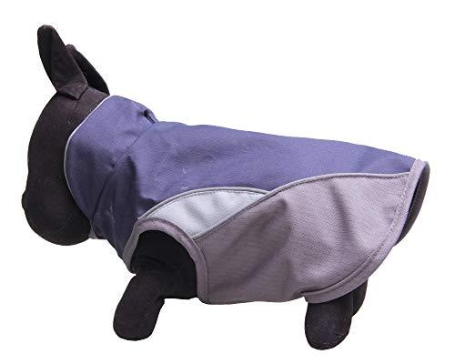 RYDRQF huisdier hond regenjas, kleine en middelgrote hond waterdichte jas, comfortabele en ademende warme huisdier regenjas, hond regenkleding met reflecterende strip