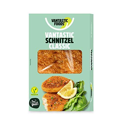 Vantastic foods VANTASTIC SCHNITZEL, 200g | Vegane Schnitzel | Fleischersatz, Fleischalternative | VEGAN