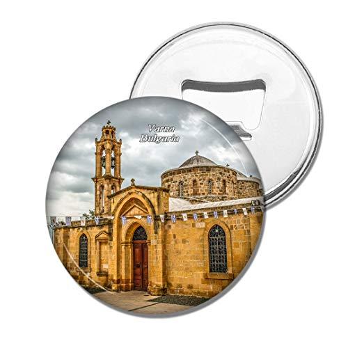 Weekino Bulgarien Kirche Byzantinisches Varna Bier Flaschenöffner Kühlschrank Magnet Metall Souvenir Reise Gift