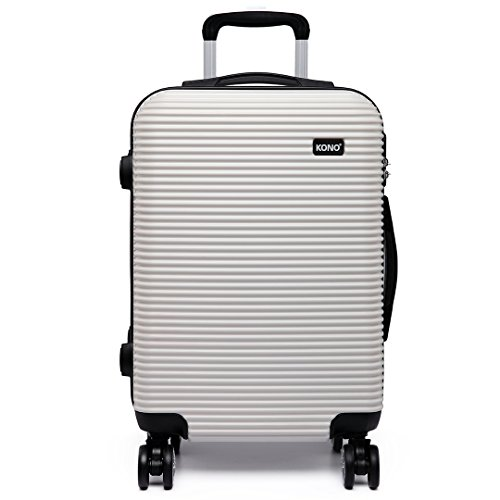 Kono 20 inch Suitcase 4 Wheels Spinner Hardshell PC Luggage...
