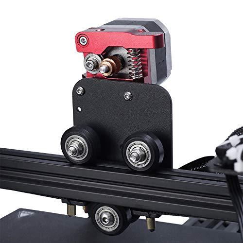 UniTak3D Conversione Estrusore a Trasmissione Diretta Lega di Alluminio Piastra Kit di Aggiornamento Adattatore Hotend Diretto per Stampante 3D Ender 3 Ender 3 Pro CR 10, Filamento TPU Supportato