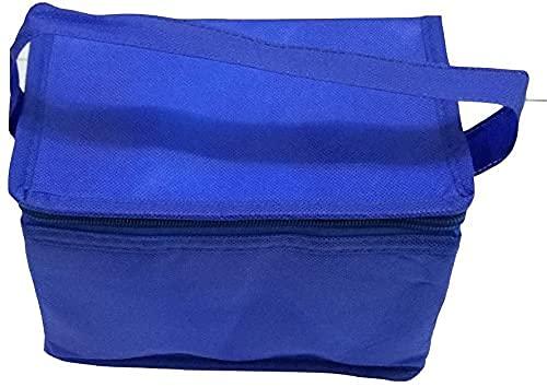 Shentian Kleine Kühltasche Kühlbox I-3656 blau für 6 Getränkedosen pasend