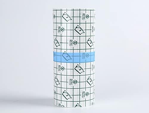 Vendaje transparente impermeable de 10 cm x 10, rollo de película transparente impermeable autoadhesivo, utilizado para heridas médicas, cuidado posterior de tatuajes, antialérgico, deportivo, baño.