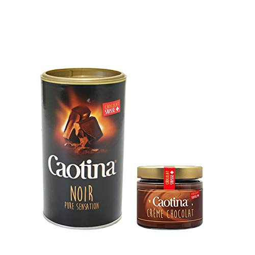 Caotina Pulver noir 500g + Caotina Creme 300g