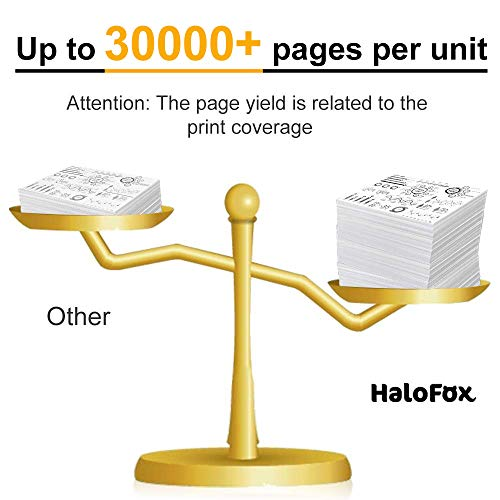 HaloFox Compatible Drum Unit Replacement for Brother DR820 DR-820 DR 820 (Black,1 Drum) Photo #2