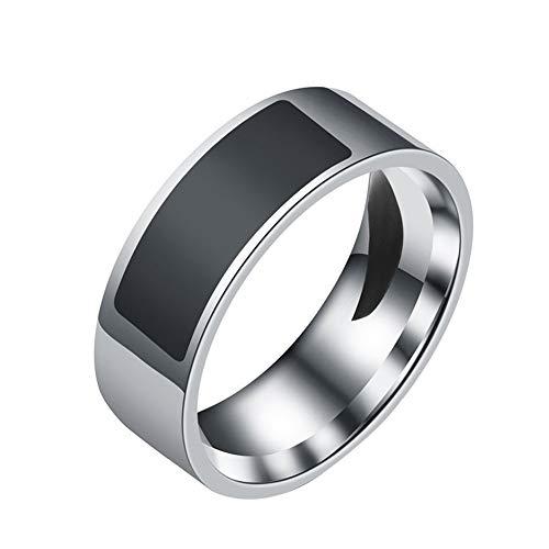 JXFS Programmierbarer NFC-Ring, Smart Multifunktions Wasserdicht Intelligente Android Windows für Handy Zubehör Smart Wear Finger Digital Ring