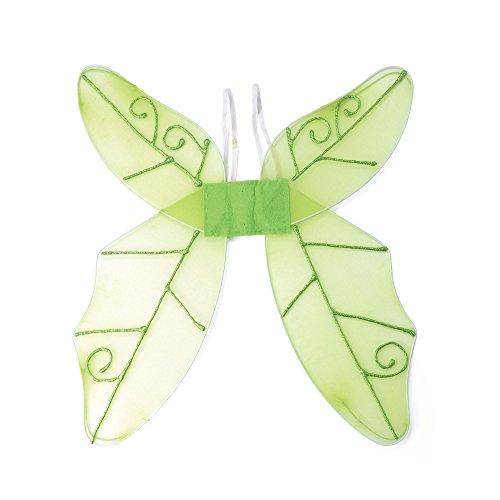 Bristol Novelty BA353 Schmetterlingflügel, Grün, Damen, Einheitsgröße
